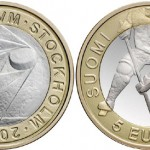 Mint of Finland Coin Marks Ice Hockey Championships