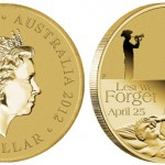 Perth Mint Offers 2012 ANZAC Day Coin Cover, Other Recent Releases Close to Sell Out