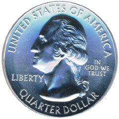 5 ounce silver bullion coin