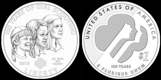 CFA Recommendations for 2013 Girl Scouts Silver Dollar