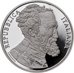 Michelangelo Silver Euro Coin