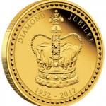 Perth Mint Gold and Silver Kilo Coins Celebrate Diamond Jubilee