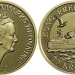 Latest Coin in Danish Ships Series Features Kong Frederik IX Ferry