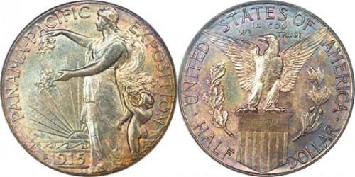 1915 Panama Pacific Half Dollar