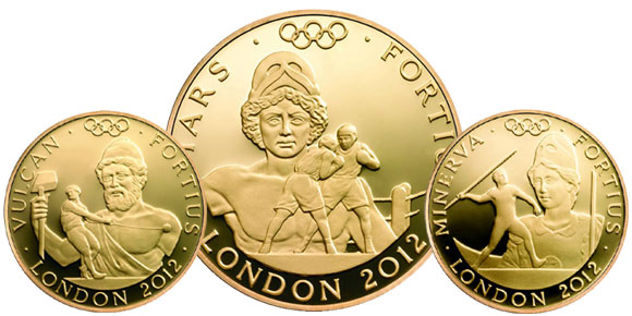 2012 Olympic Gold Coins