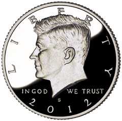 2012 Silver Proof Coin