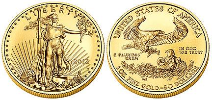 2012-W Gold Eagle