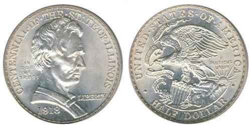 1915 Illinois Centennial Half Dollar