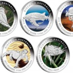 Perth Mint 2012 Discover Australia Platinum Coins