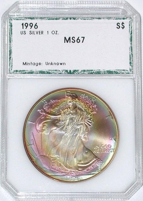 PCI 1996 Silver Eagle