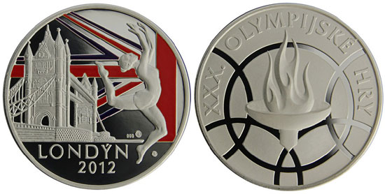 2012 Olympics Silver Medal