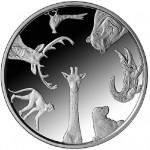 Latvian Silver Coin Marks Riga Zoo Centennial