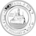 50th Anniverary of the Canadian Coast Guard $20 Silver Coin