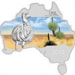 Perth Mint Releases Second Australian Map Shaped Coin