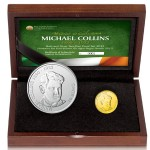 Ireland Issues Michael Collins Gold and Silver Coins