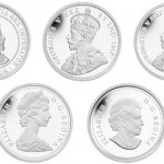Canada 2012 Farewell to the Penny Silver 5 Coin Set