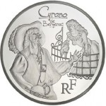 Cyrano de Bergerac Immortalized in Gold and Silver