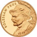 Three Polish Coins Honor Boleslaw Prus