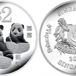 2012 Giant Panda Coins from the Singapore Mint