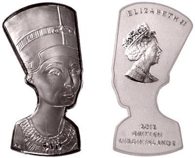 Nefertiti Silver Coin