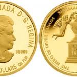 2012 Sir Isaac Brock $350 Gold Coin