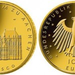 Aachen Cathedral 100 Euro Gold Coin Latest in UNESCO Site Series