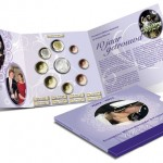 2012 Netherlands FDC Coin Set Celebrates 10th Wedding Anniversary of Princely Couple