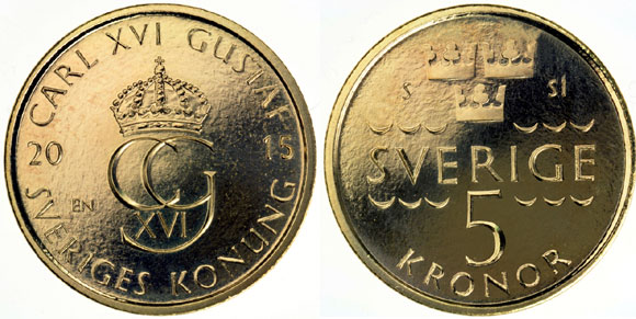 Sweden to Introduce Smaller, Lighter Coins in 2016 | Coin ...