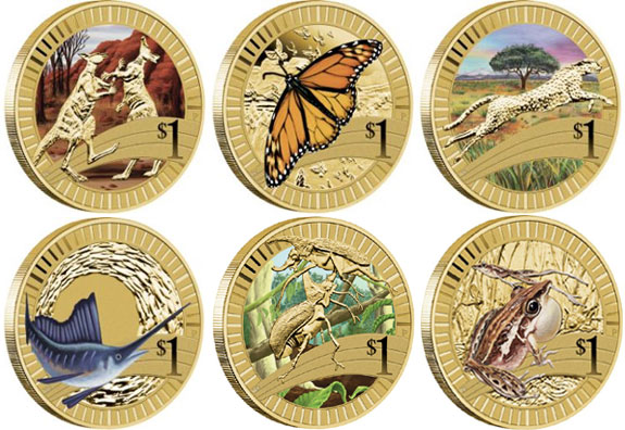 Animal Athletes Coins