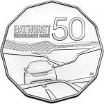 Royal Australian Mint Issues Bathurst 1000 Collectible 50c Coin