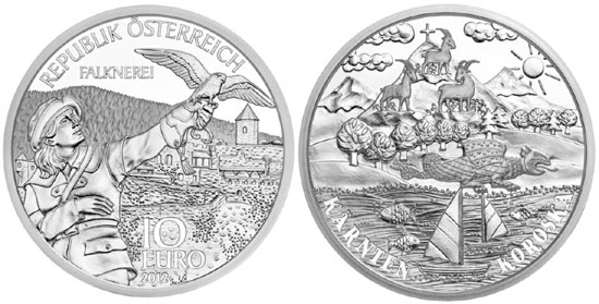 2012 Carinthia Silver Coin