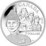 Royal Canadian Mint Releases 2012 Georgina Pope $5 Silver Coin