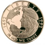 1992 Christopher Columbus Commemorative Coins
