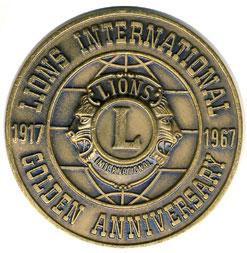 Lions Clubs International Medallion