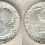 1923 Monroe Doctrine Centennial Half Dollar