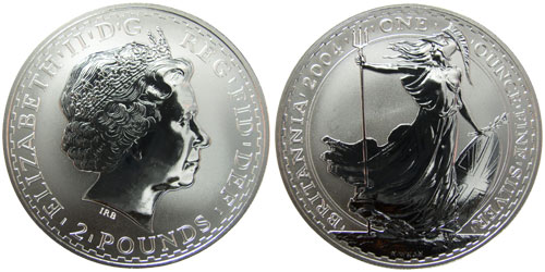 Silver Bullion Coins from Around - 38.3KB