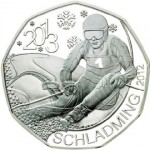 Austrian Coins Mark World Ski Championships in Schladming