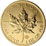 Royal Canadian Mint Adds Security Feature to Gold Maple Leaf