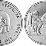 Silver Coin Honors Latvian Sculptor Kārlis Zāle