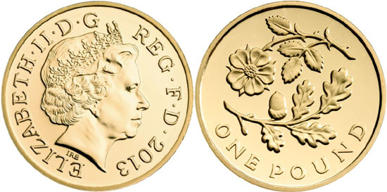 The New One Pound Coin Designed By Renowned Numismatic And Medallic Artist Fellow Of Society Scribes Illuminators Timothy Noad