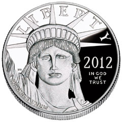 2012 Proof Platinum Eagle