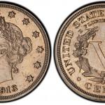 Walton Specimen 1913 Liberty Nickel On Display In Orlando