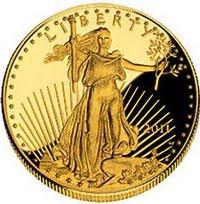2011 Proof Gold Eagle