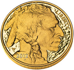 2012 Proof Gold Buffalo