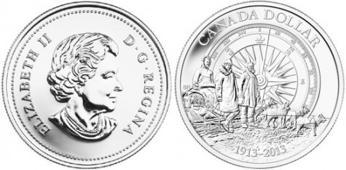 2013 Canadian Silver Dollar