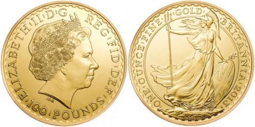 2013 Gold Britannia