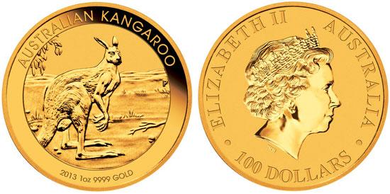 2013 Gold Kangaroo