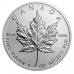 2013 Silver Maple Leaf Coin
