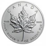 RCM Rationing 2013 Silver Maple Leaf Bullion Coins
