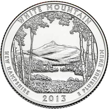 2013 White Mountain National Forest Quarter